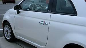 fiat 500 italian flag car auto door handle trim molding scratch protector 2 door pack