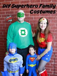 check out this family of superheroes great costume idea for family or group