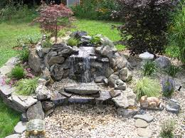 Small Picture Garden Design Garden Design with Build a Backyard Waterfall and