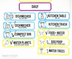 Cute Chore Chart Free Diy Chore Chart Printable The Last Chore Chart Youll