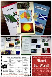 Fun Brochure Templates Country Brochure Template Report Templates Free Flyer