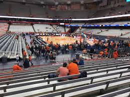 Carrier Dome Section 115 Syracuse Basketball