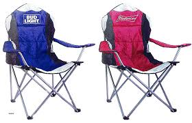 bud light folding chair bud light deluxe tailgate chairs assorted brand styles homes for by