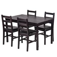 Bestmassage Dining Table Set Kitchen Dining Table Set Wood Table And