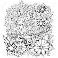 Alleen Kleurplaat Bloemen Volwassenen Krijg Duizenden