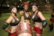 Despite the name, Leather and Lace Football is no girly game (video) -  al.com