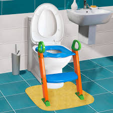 1 kids potty training seat with step stool ladder for child toddler toilet chair