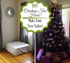 Christmas Tree Light Hacks Diy Christmas Tree Hack Make Your Tree Taller Savvy In