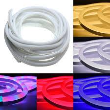Flexible Neon Led Rope Lights 10m 2835 Led Flexible Neon Rope Strip Light Xmas Outdoor Waterproof 220v