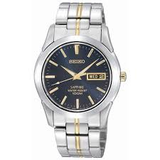 men s seiko watches h samuel seiko sapphire men s stainless steel bracelet watch product number 6743463