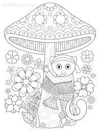 Small Picture Hippie Animals Coloring Book by Thaneeya McArdle Thaneeyacom