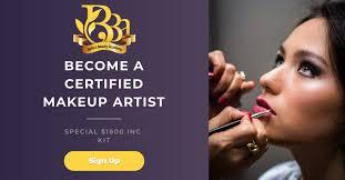 makeup artist certificate program