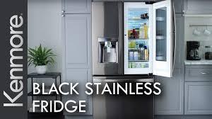 kenmore fridge black. kenmore black stainless steel refrigerator | kitchen appliances fridge