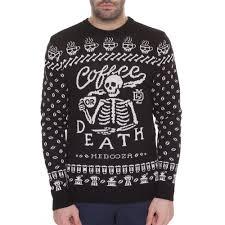 <b>свитер medooza apparel</b> coffee or death черный xl | novaya-rossia ...