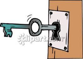 door lock and key cartoon. Key To Locked Door Clipart - Mzayat Lock And Cartoon