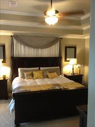 Image result for curtains behind bed decor