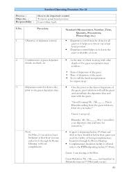 How To Write An Army Sop Template Interesting Standard Operating Guidelines Template Sop Standard Operating