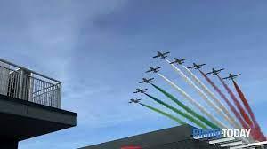 VIDEO | Le Frecce Tricolori nel cielo del Misano Circuit per la MotoGp