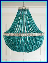 eco friendly blue beaded chandelier also mini beaded chandelier