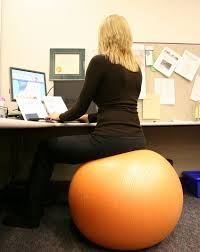 Office Ball Exercise Ball As Office Chair And Did Testing