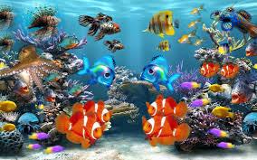 Fonds D'écran Aquarium PC Et Tablettes ...