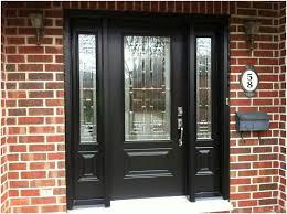 black double front doors. Black Wooden Front Doors With Sidelights Double A