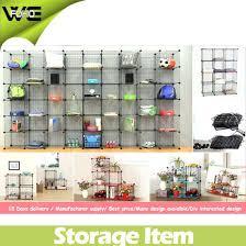 wire grid shelf grid steel wire modular shelving storage metal rack wire grid shelf unit