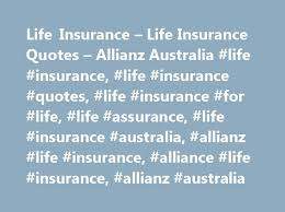 Allianz Life Insurance Quote Classy Life Insurance Life Insurance Quotes Allianz Australia Life