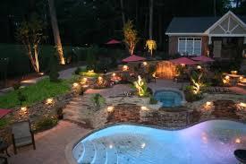 unique ideas outdoor low voltage lighting beautiful pool outdoor low voltage lighting