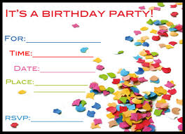 invitations cards free free birthday card invitation templates birthday invite cards free
