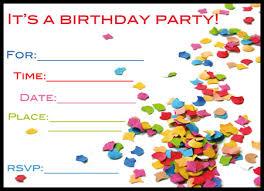 invitations cards free free birthday card invitation templates birthday invite cards free