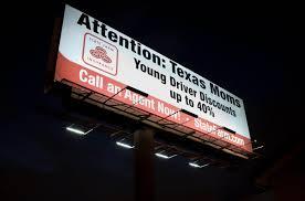 48ft x 12ft billboard using 4 x 75 watt activeled billboard lights