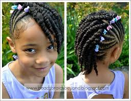 Braids For Little Black Girl Hair Style braids for little black girl hairstyle with beads girls braids 3428 by wearticles.com