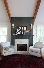 My New Arhaus Living Room Chairs. Gas Fireplace ...