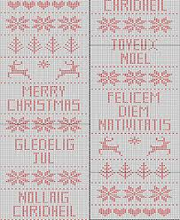 Ravelry Fair Isle Christmas Table Runner Pattern By