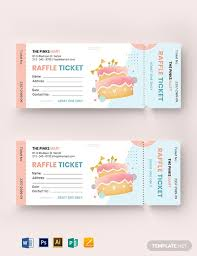 Template For A Raffle Ticket 11 Free Raffle Ticket Templates Word Psd Indesign