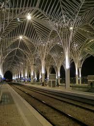 Modern Train Station Design Modern Architecture Modern Art Railway Station Portugal