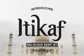 Itikaf - Religious Serif | Stunning Serif Fonts ~ Creative Market