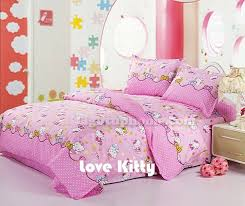 kitty bedding sets set twin