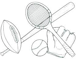 Sport Coloring Pages Avusturyavizesiinfo