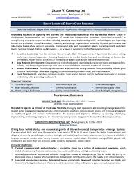 Telecom Operations Manager Resume Example