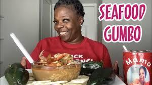 LOUISIANA SEAFOOD GUMBO MUKBANG! - YouTube