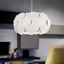Eglo Montorio White Steel Pendant Light