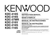 kenwood kdc 116s manuals Kenwood Radio Wiring Colors at Kenwood Kdc 116s Wiring Diagram