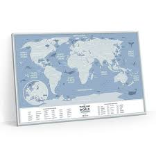 "Скретч-<b>карта Travel Map</b> ""Weekend World"", 40 х 60 см бренда ..."
