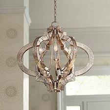 image chandelier lighting. Ornament Aged Silver 23 1/4\ Image Chandelier Lighting Lamps Plus