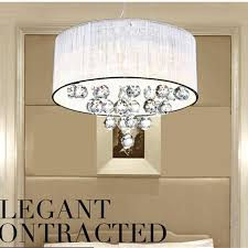 modern led lamps round crystal chandeliers bedroom living room lights drawing lights warm room restaurant bedroom lamps