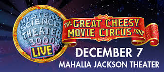 Shows Mystery Science Theater 3000 Live At The Mahalia