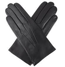 dents men s leather gloves bath black