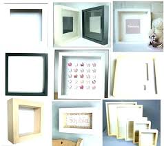 shadow box decor large shadow box frames warm frame com in addition to 6 coquille shadow